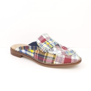 Sperry Top-Sider New Seaport Fina Madras Mules